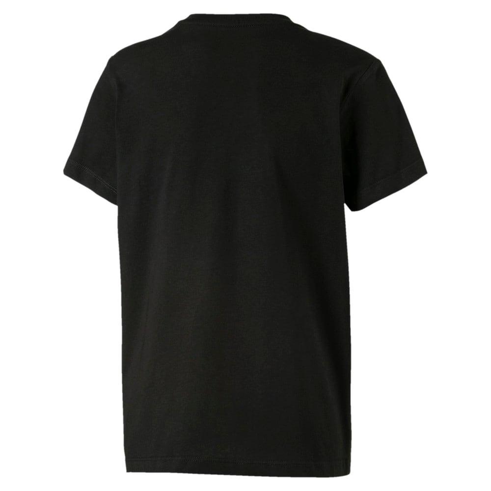 Изображение Puma Детская футболка Logo Tee #2