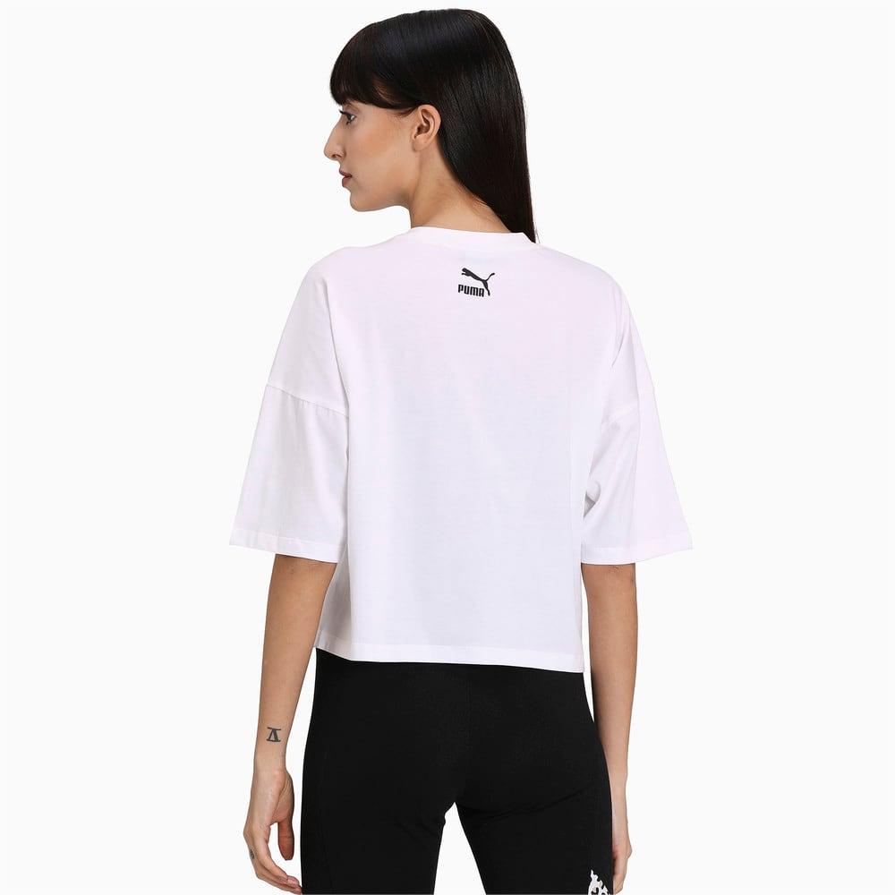 Image PUMA Camiseta Classics Loose Fit Feminina #2