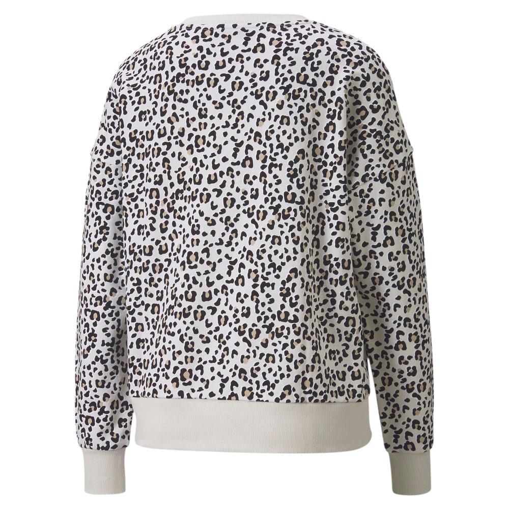 Görüntü Puma CLASSICS GRAPHIC Uzun Kollu Kadın Sweatshirt #2