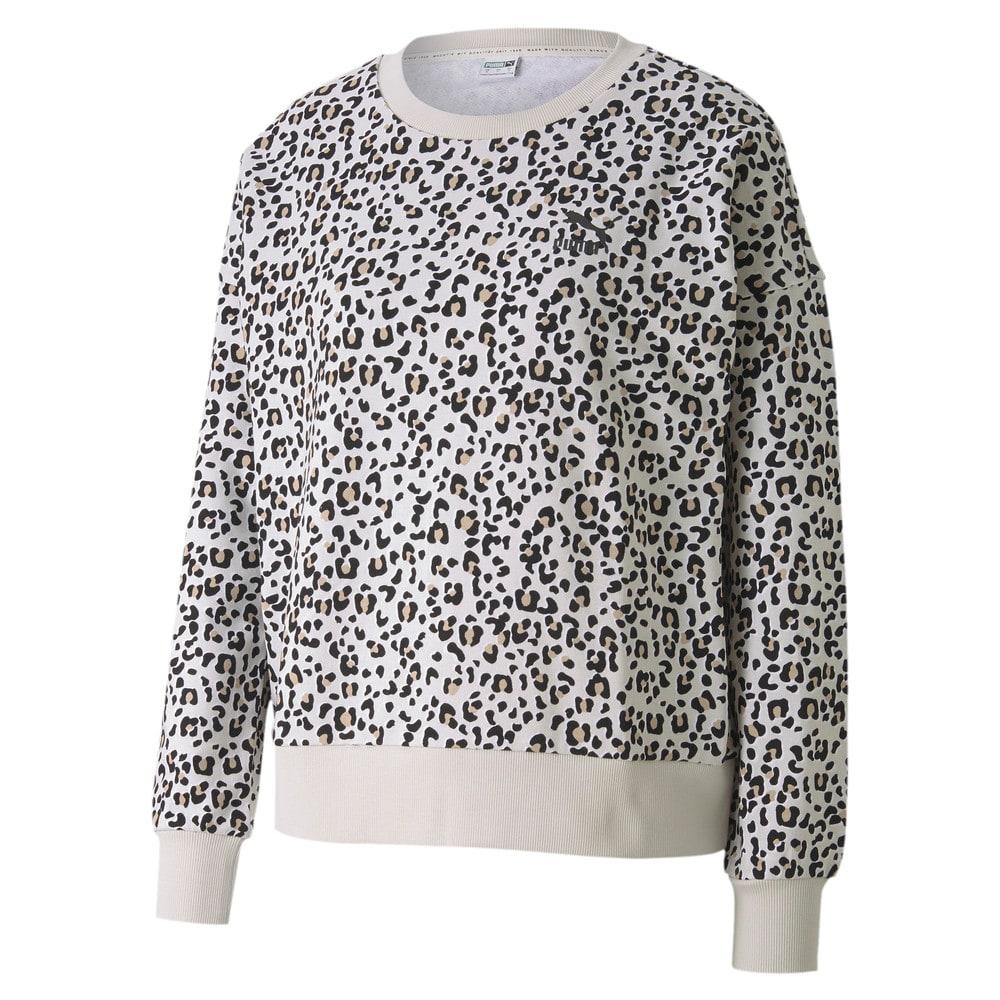 Görüntü Puma CLASSICS GRAPHIC Uzun Kollu Kadın Sweatshirt #1