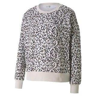 Görüntü Puma CLASSICS GRAPHIC Uzun Kollu Kadın Sweatshirt