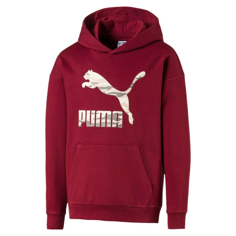 Изображение Puma Детская толстовка Logo Hoodie #1