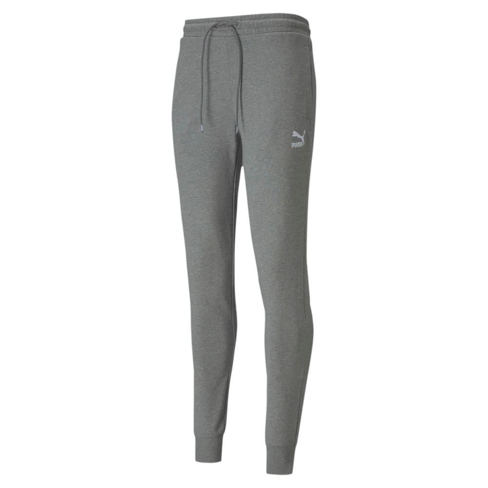 Imagen PUMA Pantalones deportivos con puño ajustado Classics para hombre #1