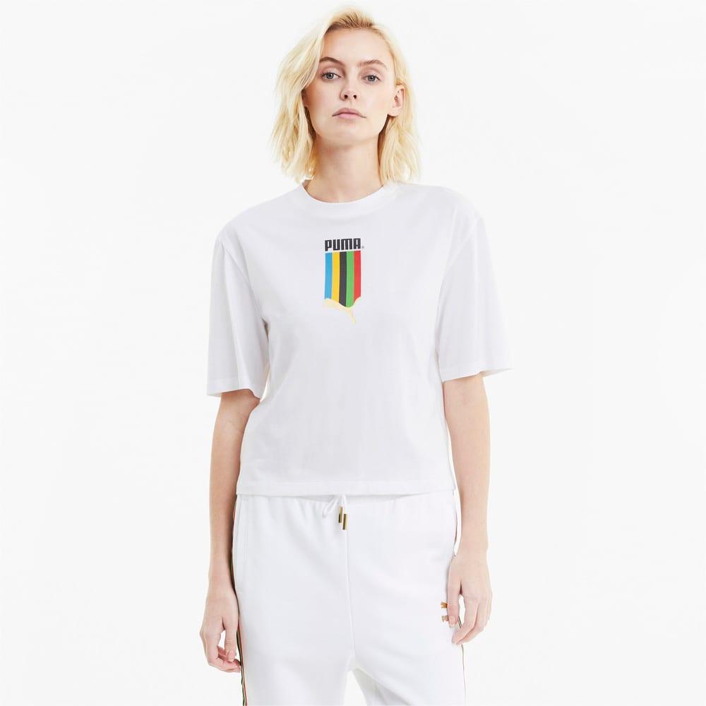 Görüntü Puma TFS Baskılı Kadın T-Shirt #1
