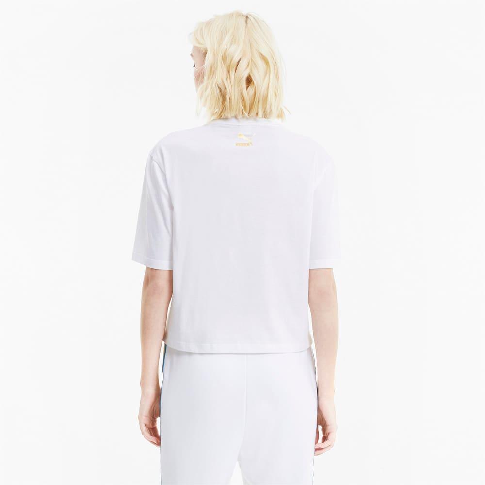 Görüntü Puma TFS Baskılı Kadın T-Shirt #2