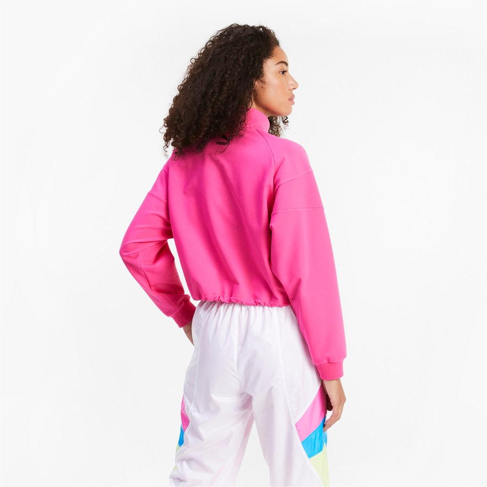 Görüntü Puma TAILORED FOR SPORT Yarım Fermuarlı Kadın Sweatshirt #2