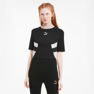 Изображение Puma Топ TFS Retro Crop Top
