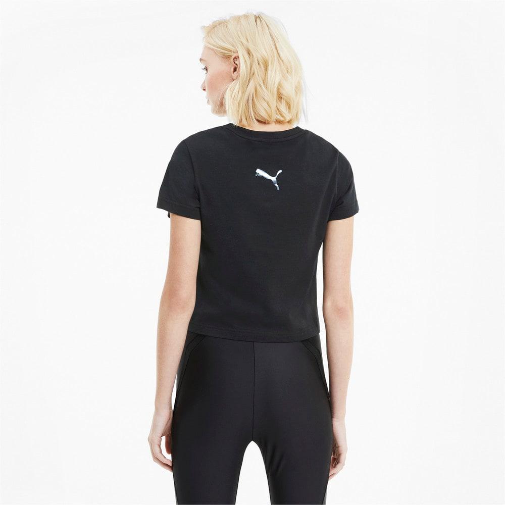 Görüntü Puma EVIDE GRAPHIC Kısa Kollu Kadın T-shirt #2
