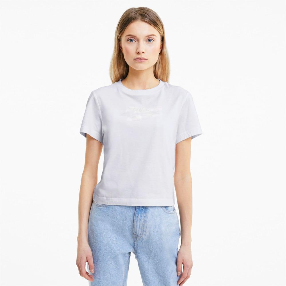 Görüntü Puma EVIDE GRAPHIC Kısa Kollu Kadın T-shirt #1