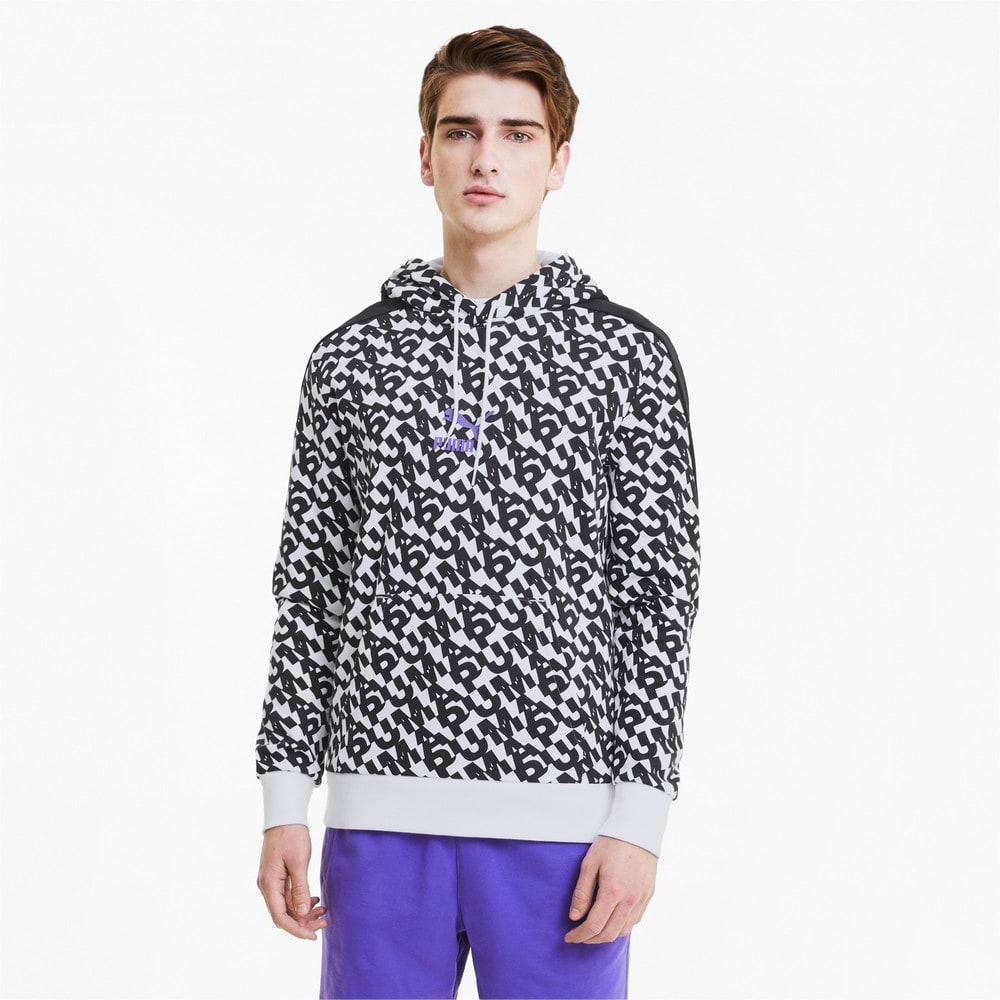 Görüntü Puma CLASSICS GRAPHIC PRINTED Erkek Kapüşonlu Sweatshirt #1