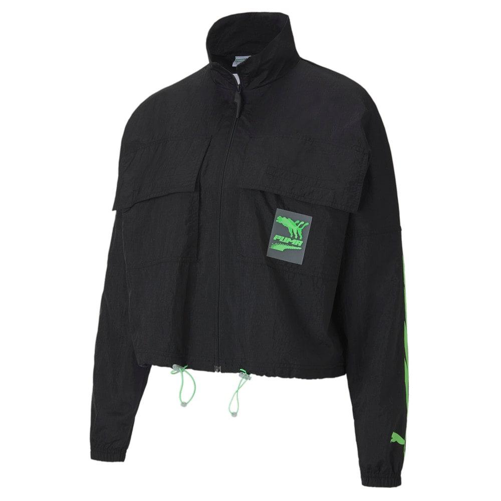 Изображение Puma Олимпийка Evide Woven Track Jacket #1