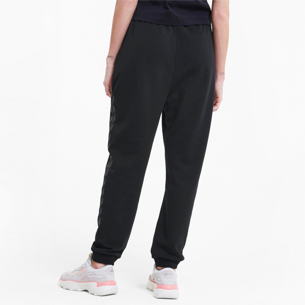 Изображение Puma Штаны Evide Graphic Knitted Women's Track Pants #2