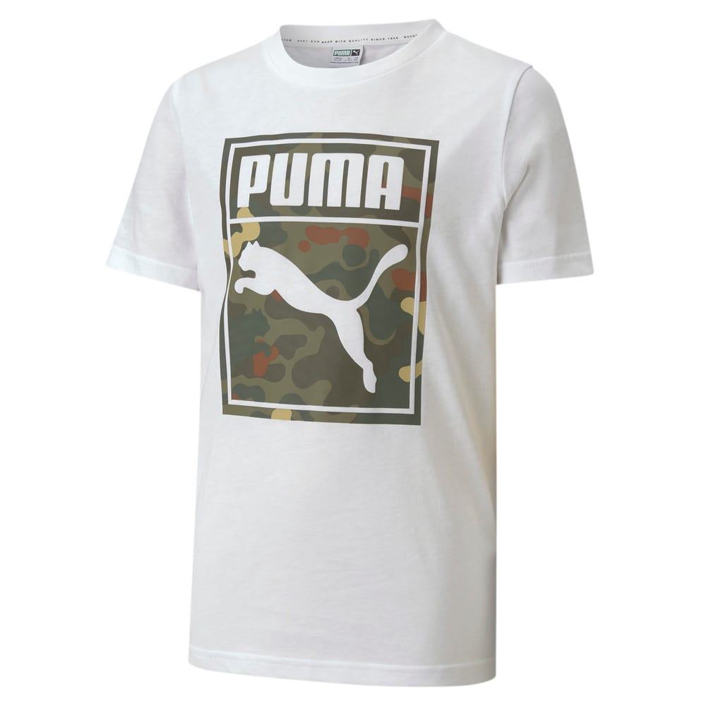 Изображение Puma Детская футболка Classics Graphics Tee #1