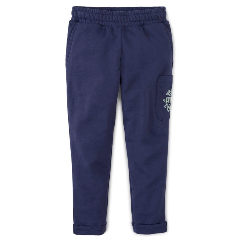 Изображение Puma Детские штаны T4C Sweatpants #1