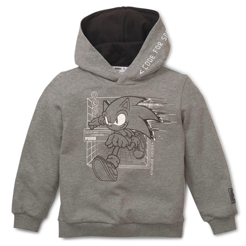 Görüntü Puma PUMA x SEGA Çocuk Kapüşonlu Sweatshirt #1