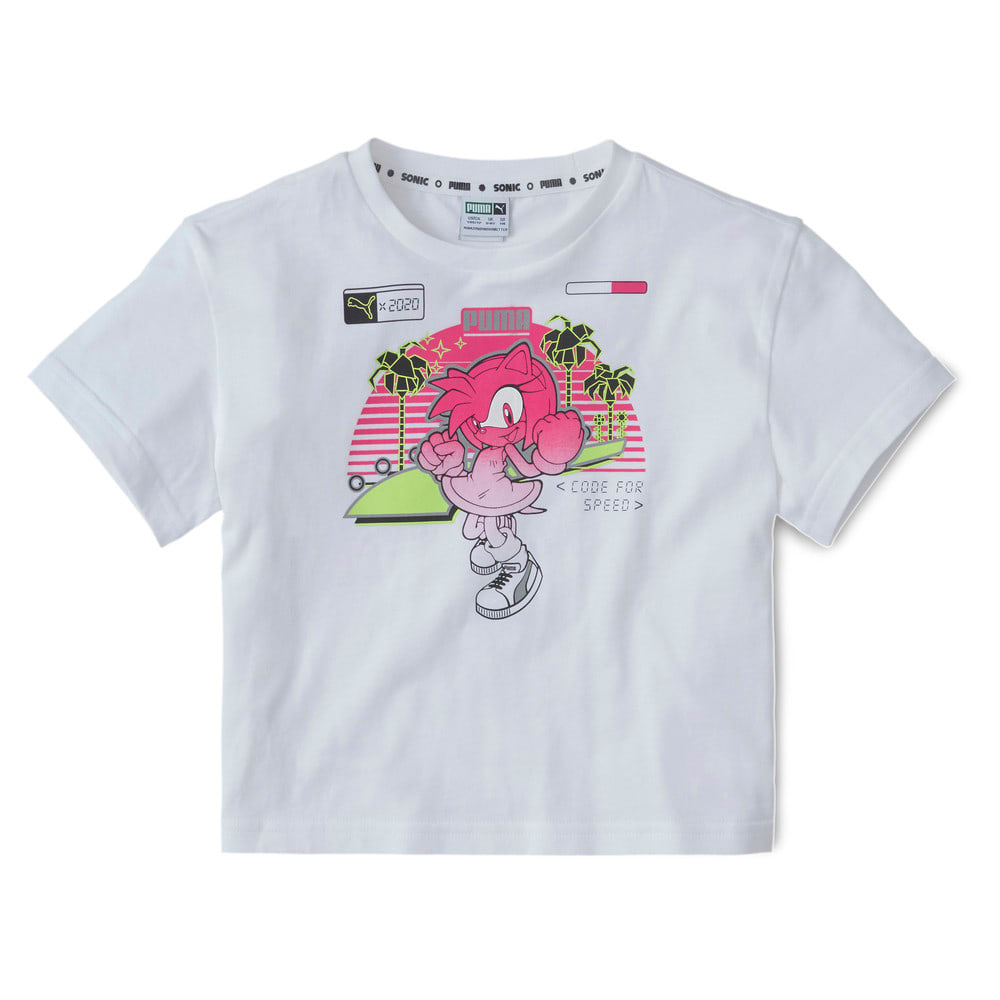 Изображение Puma Детская футболка PUMA x SEGA Tee #1