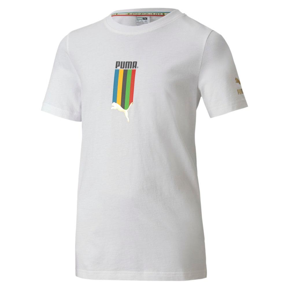 Görüntü Puma TAILORED FOR SPORT GRAPHIC Çocuk T-shirt #1