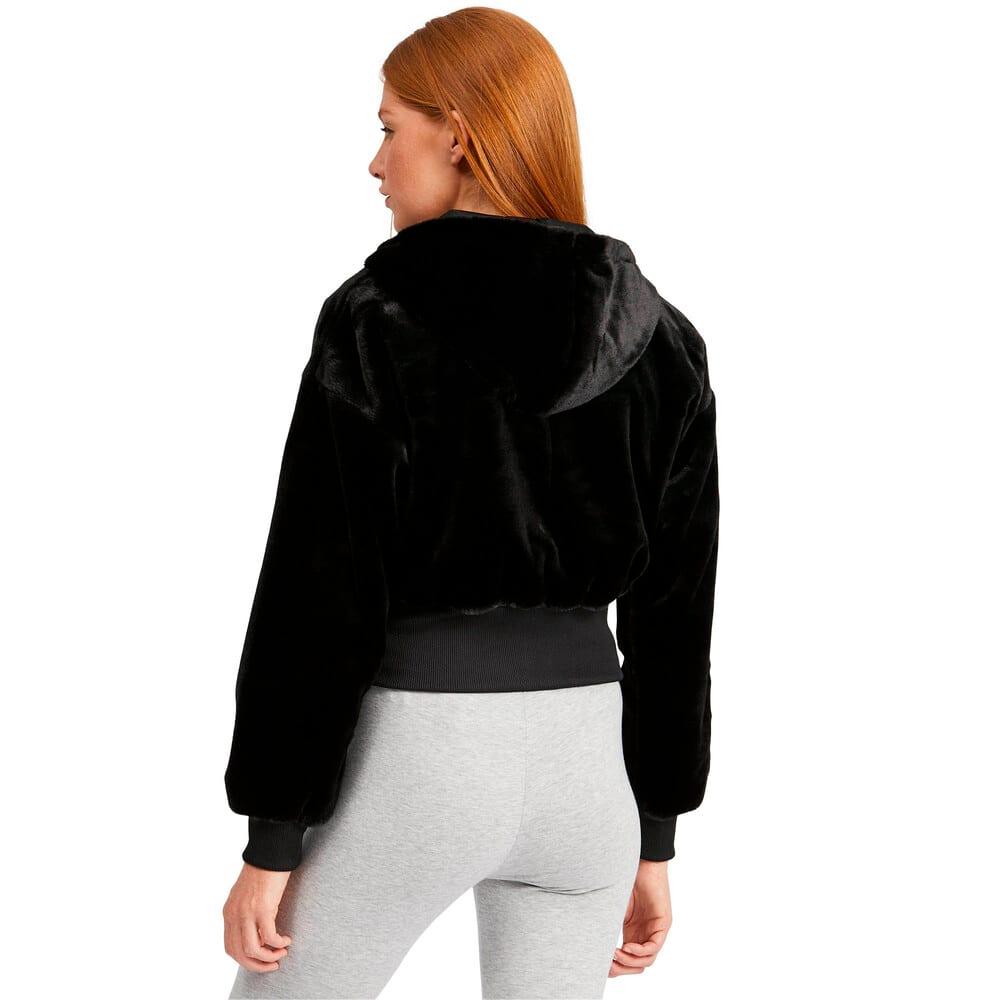 Imagen PUMA Polar con capucha con cierre completo Winter Classics para mujer #2