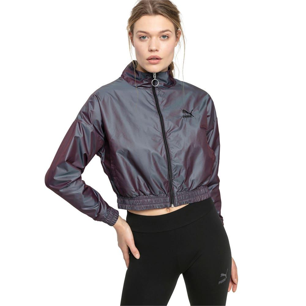 Image Puma Iridescent Pack Woven Women's Jacket #1