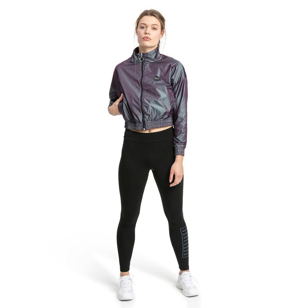 Image Puma Iridescent Pack Woven Women's Jacket #2
