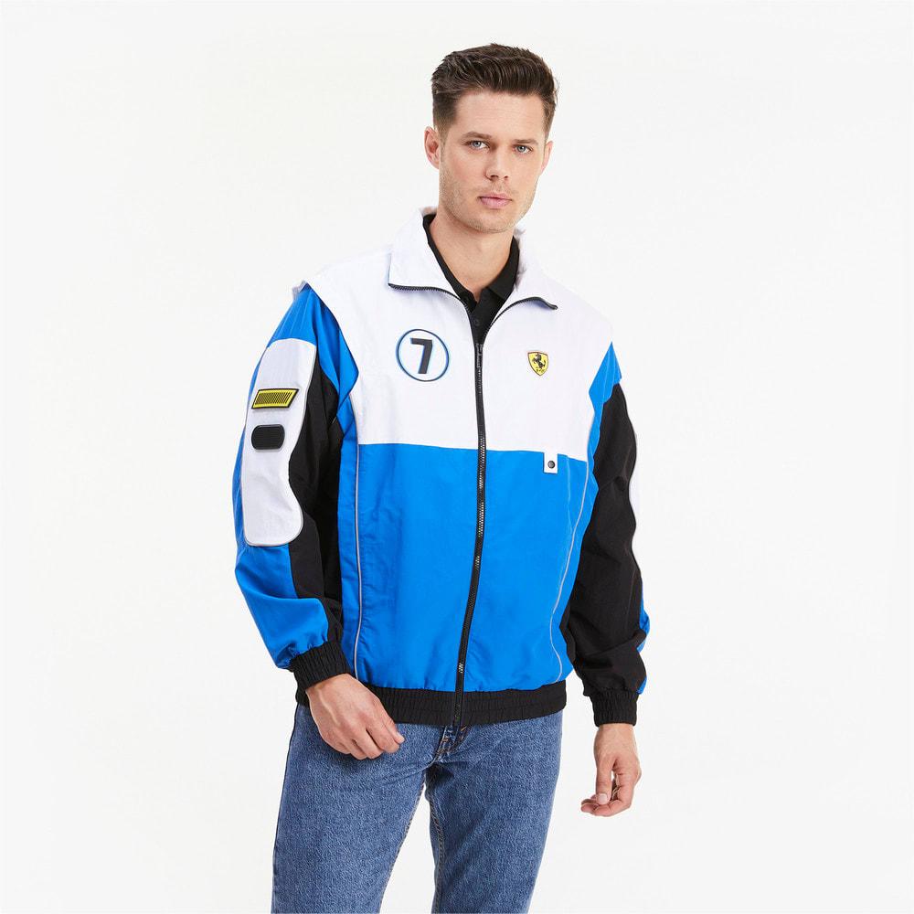 Görüntü Puma SCUDERIA FERRARI Race Street Erkek Ceket #1