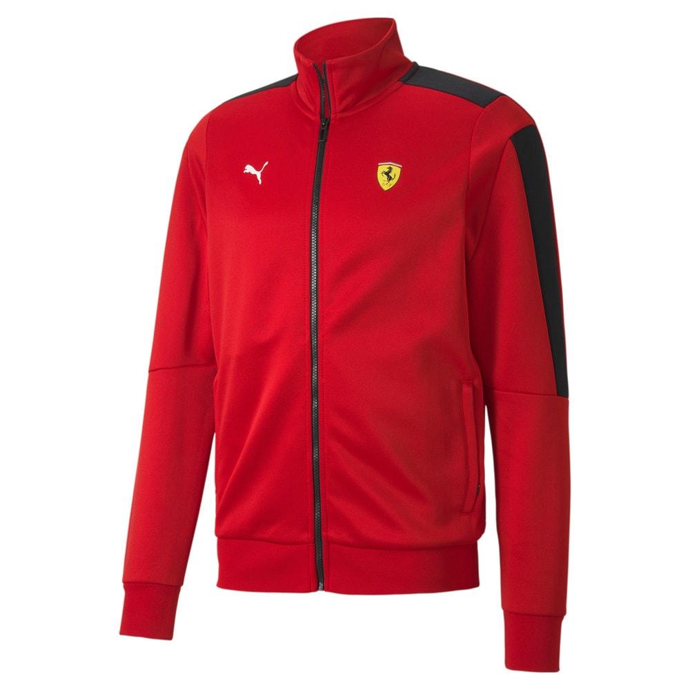 Imagen PUMA Chaqueta deportiva Scuderia Ferrari Race T7 para hombre #1