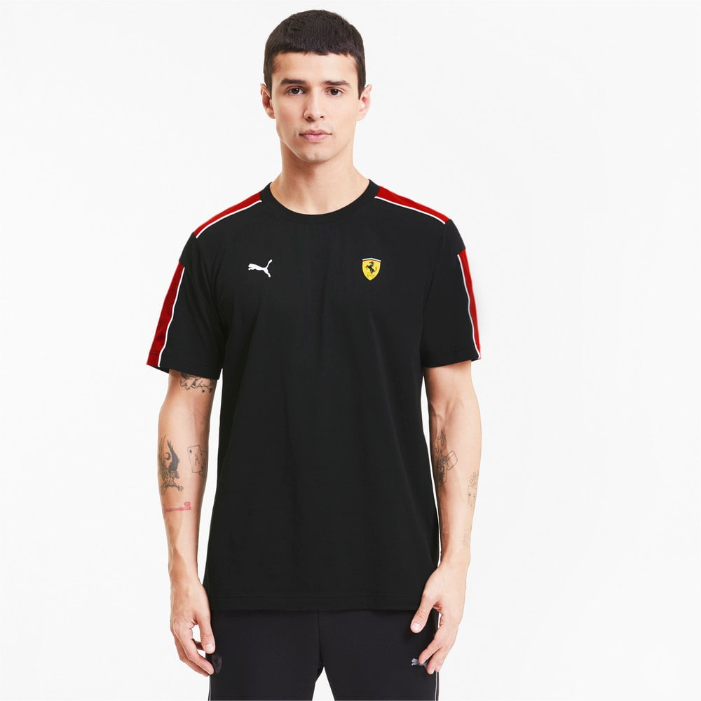 Image PUMA Camiseta Scuderia Ferrari Racing T7 Masculina #1