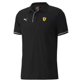 Camisa Polo Scuderia Ferrari Racing Masculina