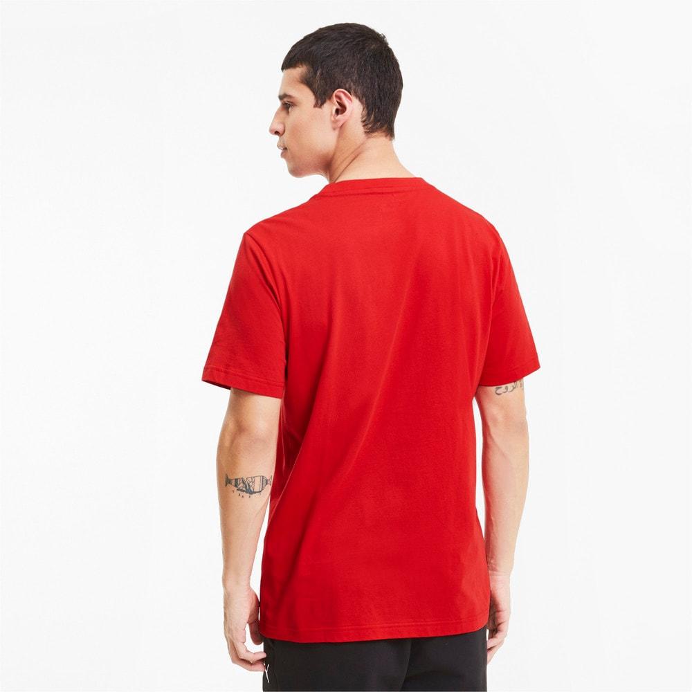 Image PUMA Camiseta Scuderia Ferrari Racing Big Shield Masculina #2