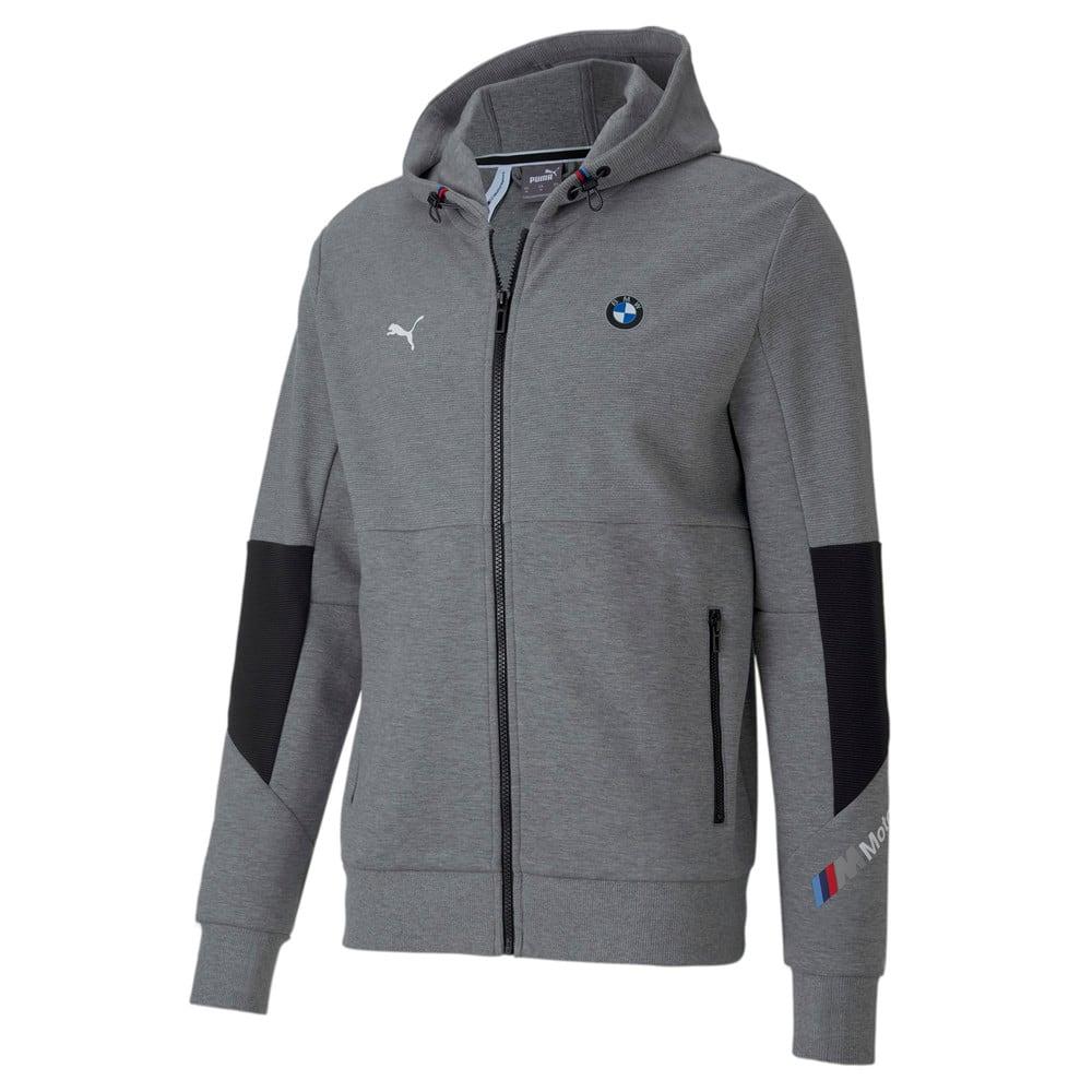 Image Puma BMW M Motorsport Hooded Men's Sweat Jacket #1