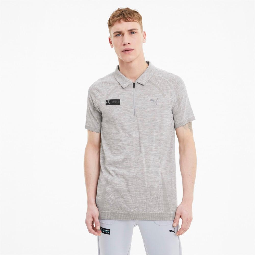 Image Puma Mercedes RCT evoKNIT Men's Polo Shirt #1