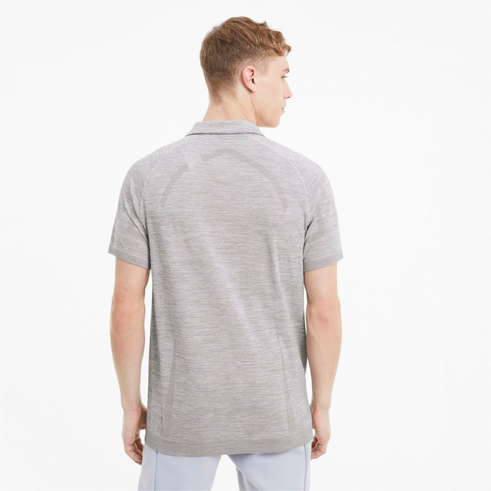 Image Puma Mercedes RCT evoKNIT Men's Polo Shirt #2