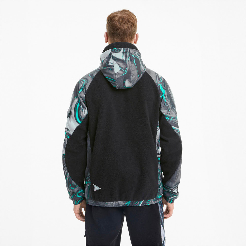 Image Puma Mercedes Street Hooded Men's Jacket #2