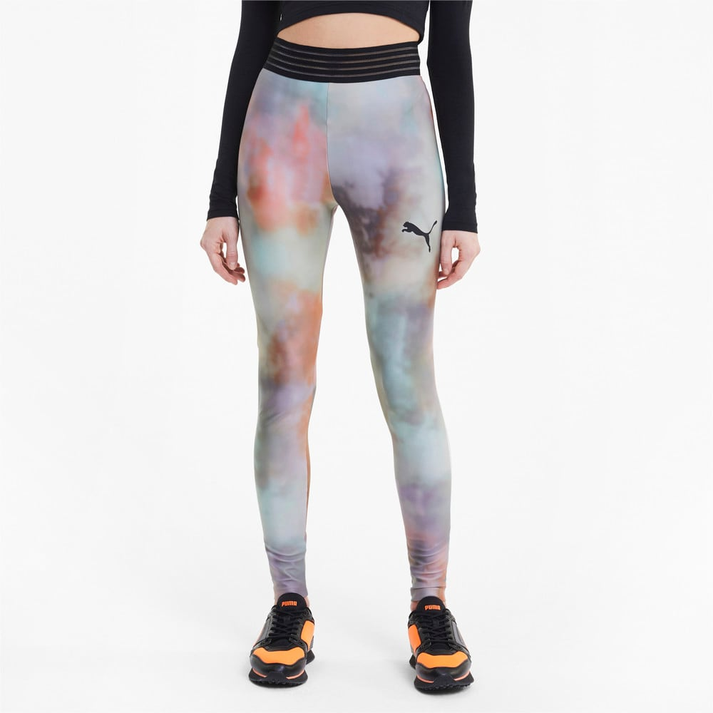 Imagen PUMA Leggings con estampado íntegro Evide para mujer #1