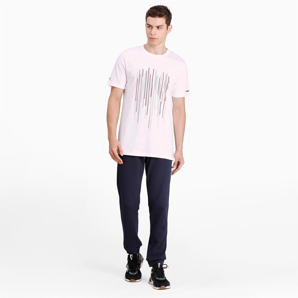 Görüntü Puma PORSCHE DESIGN GRAPHIC Erkek T-shirt #1