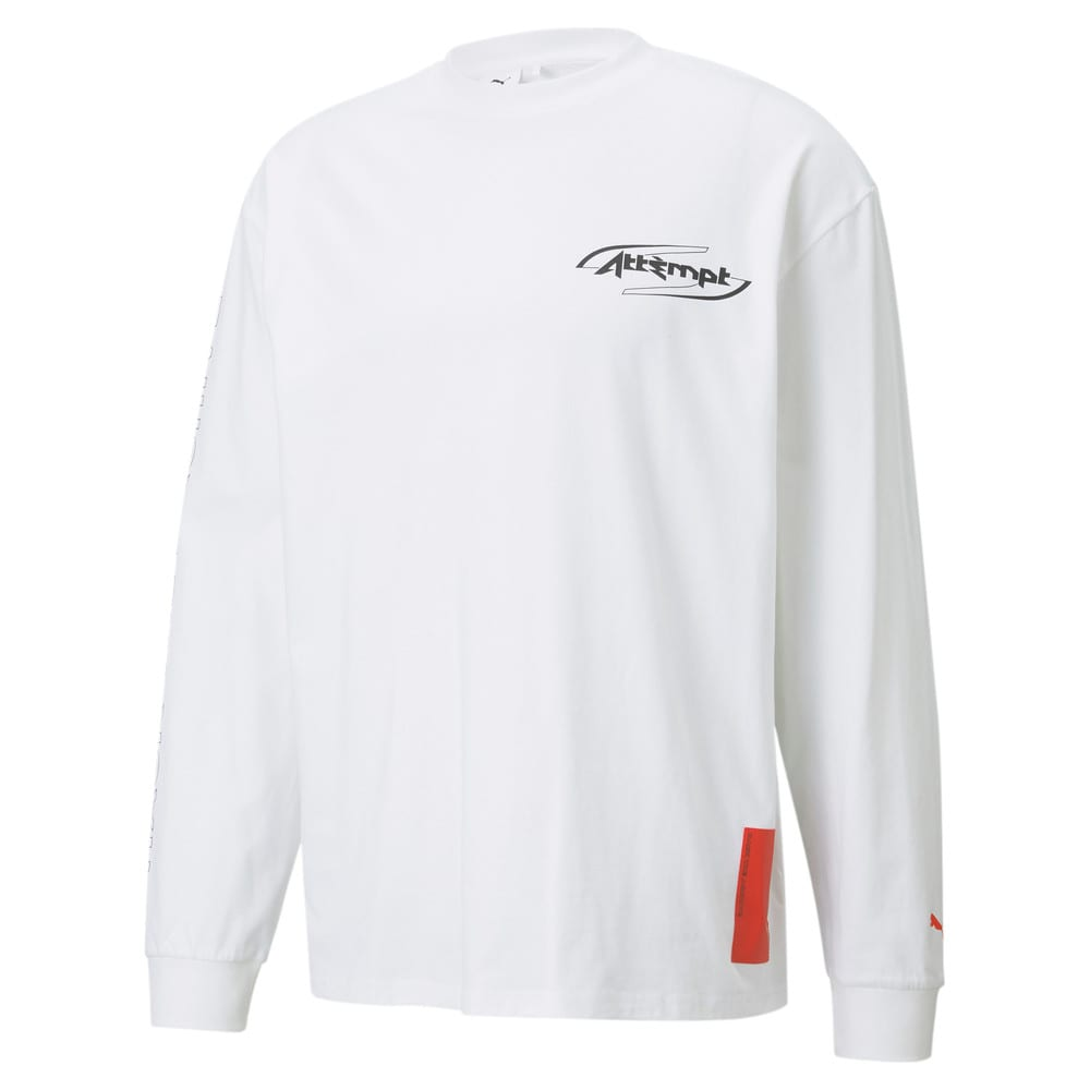 Görüntü Puma PUMA x ATTÈMPT Uzun Kollu Erkek T-shirt #1