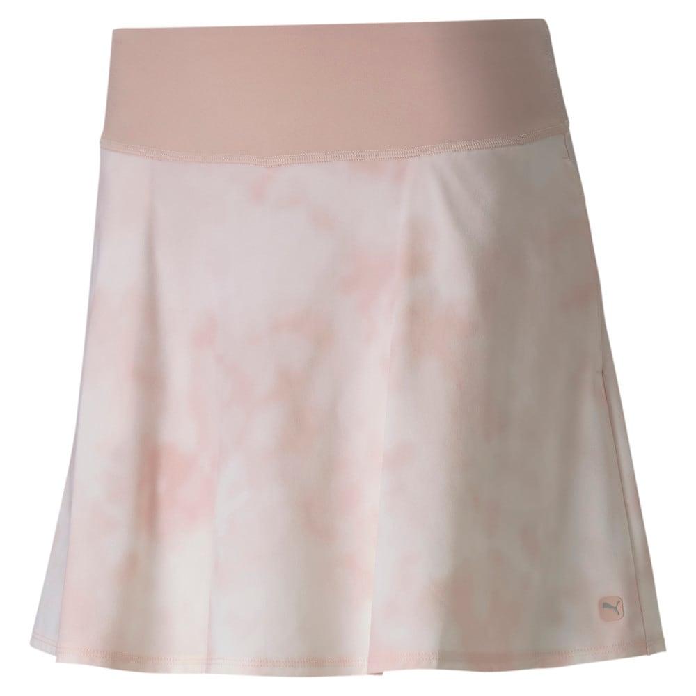 Image Puma PWRSHAPE Tie Dye Women's Golf Skirt #1
