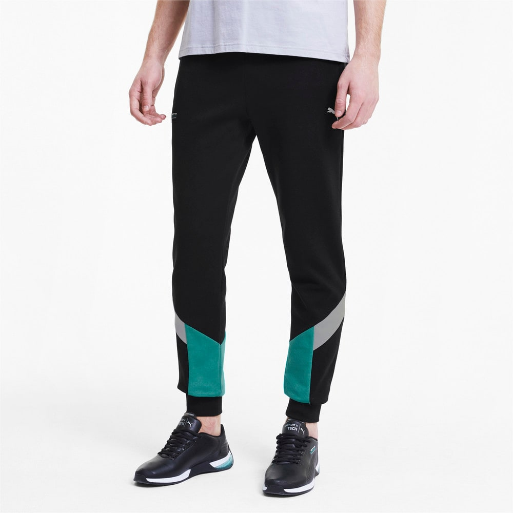 Image Puma Mercedes Slim Fit Men's Sweatpants #1