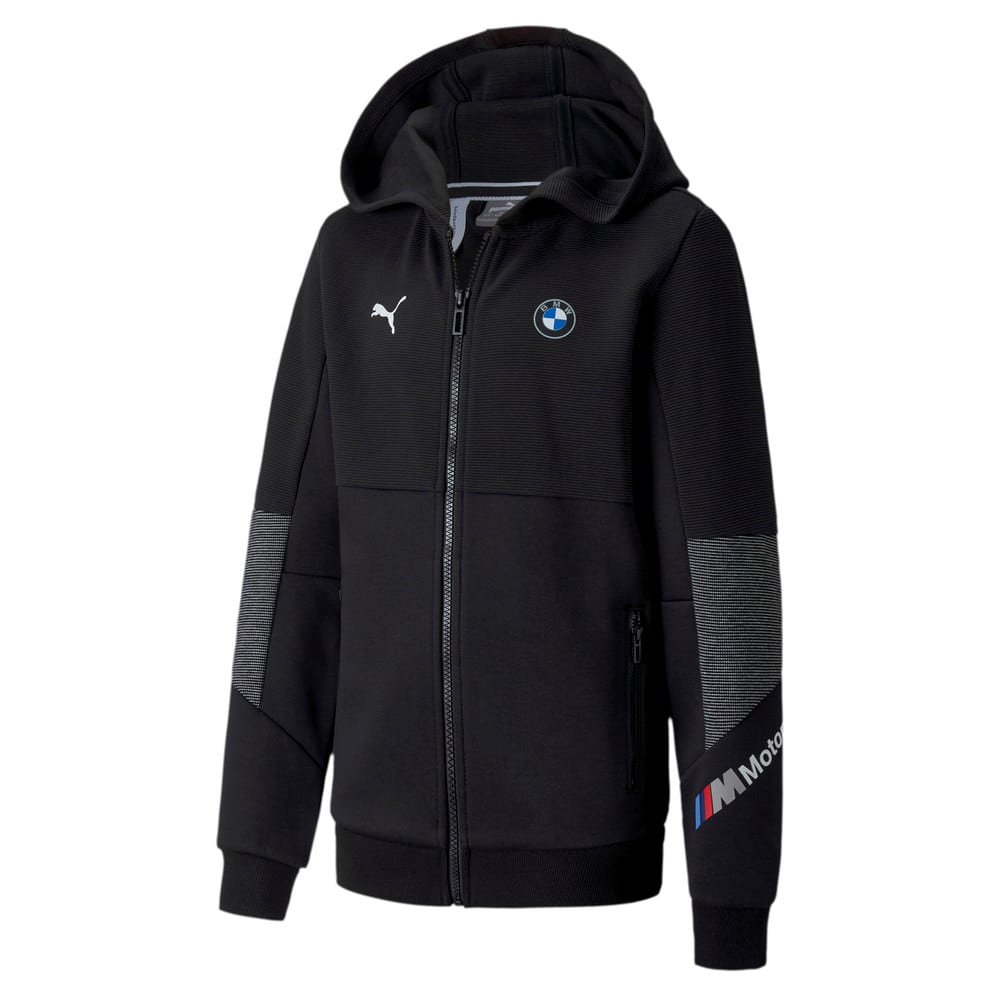 Image Puma BMW M Motorsport Youth Sweat Jacket #1