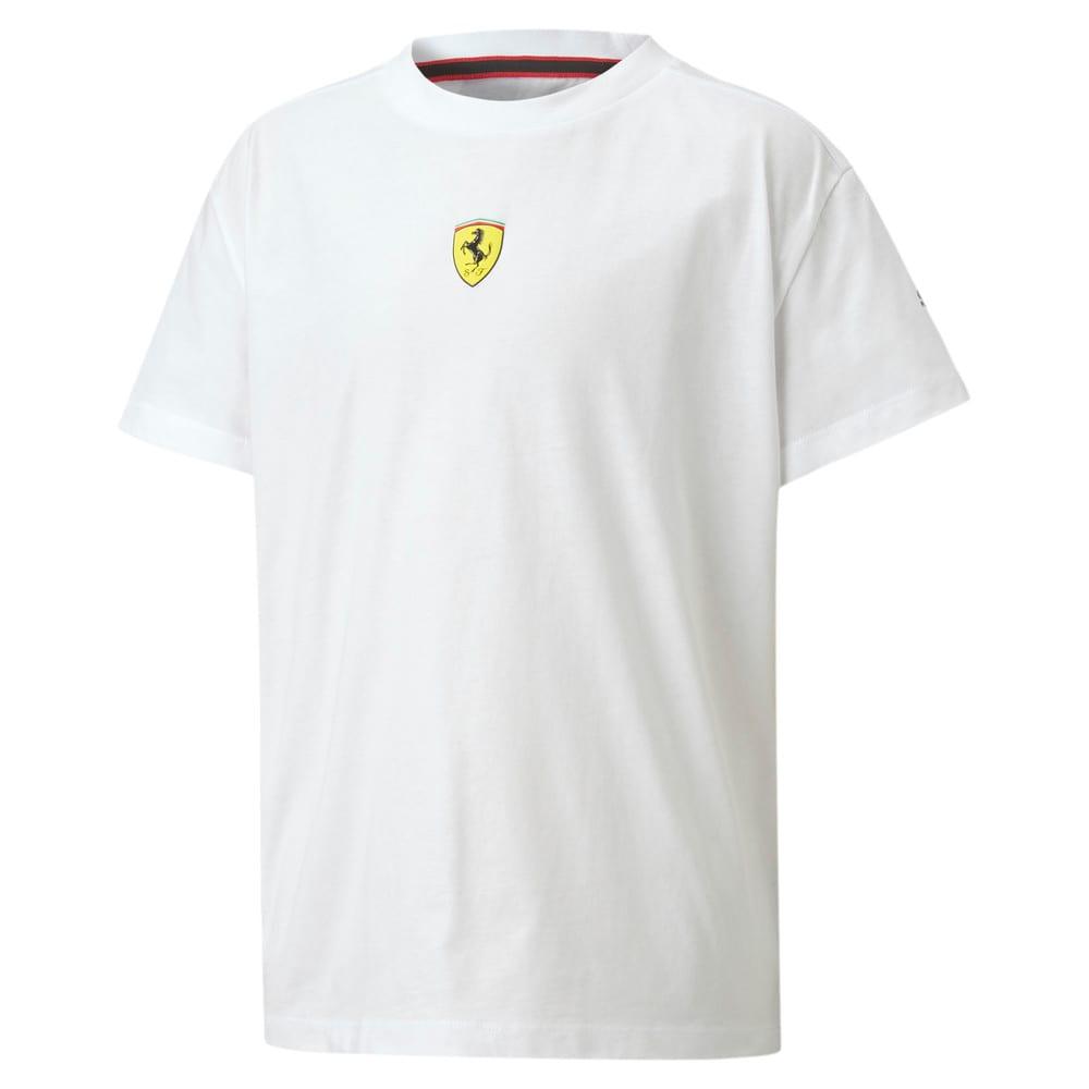Изображение Puma Детская футболка Ferrari Race Kids Street Tee #1