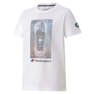 Image Puma BMW M Motorsport Graphic Youth Tee