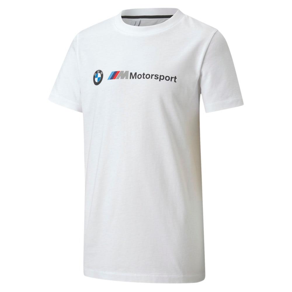 Изображение Puma Детская футболка BMW MMS Kids Logo Tee #1