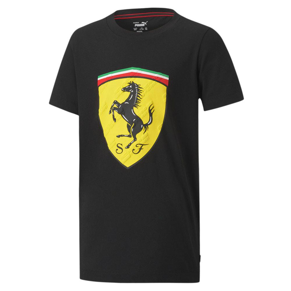 Image Puma Scuderia Ferrari Race Big Shield Youth Tee #1