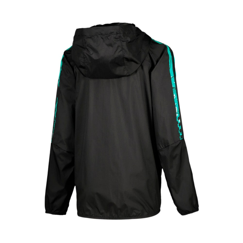 Image Puma Mercedes T7 City Runner Youth Jacket #2