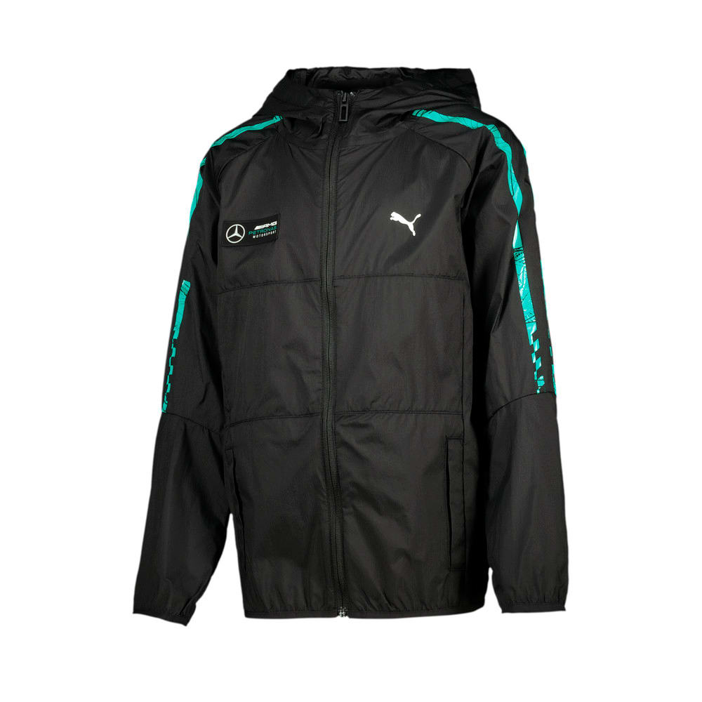 Image Puma Mercedes T7 City Runner Youth Jacket #1