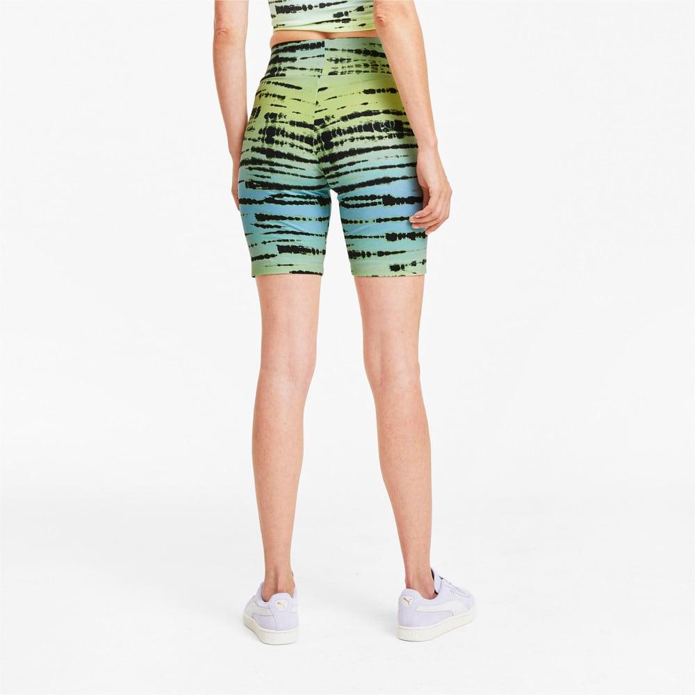 Изображение Puma Велосипедные шорты Tie Dye All-Over Printed Short Women's Tights #2