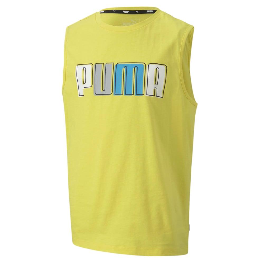 Görüntü Puma CELEBRATION Kolsuz Erkek Çocuk GRAPHIC T-shirt #1