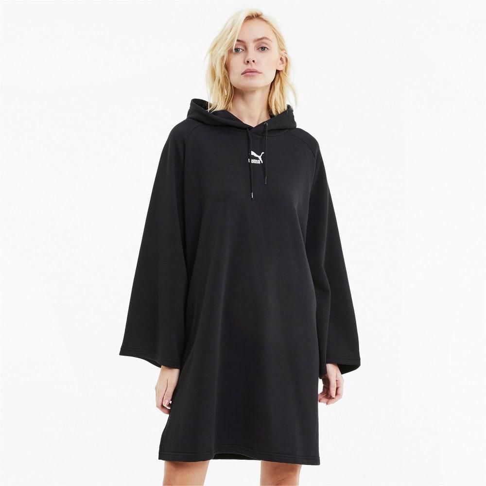 Изображение Puma Платье Classics Hooded Women's Dress #1