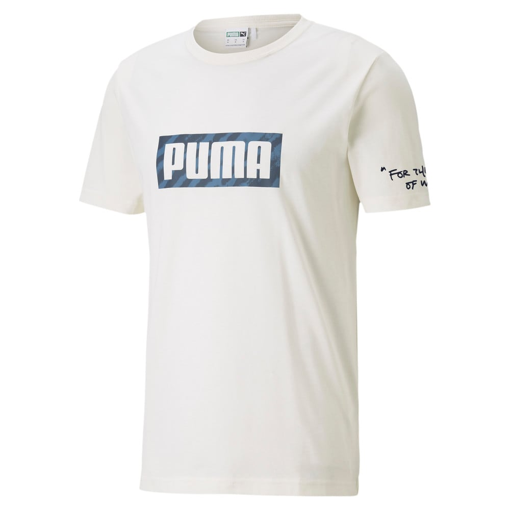 Изображение Puma Футболка CSM Graphic Tee #1