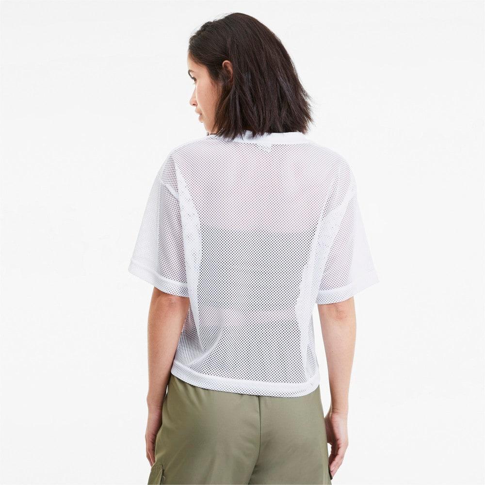 Görüntü Puma CLASSICS Mesh Kadın T-Shirt #2